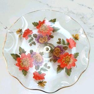 Vintage Flower Bowl-Made in England